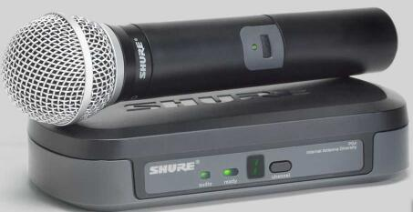 PG24/PG58双通道无线系统无线话筒