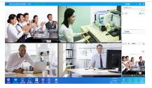 视频会议 分屏模式